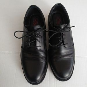 Perfect Cap Toe Lace Up Leather Oxford